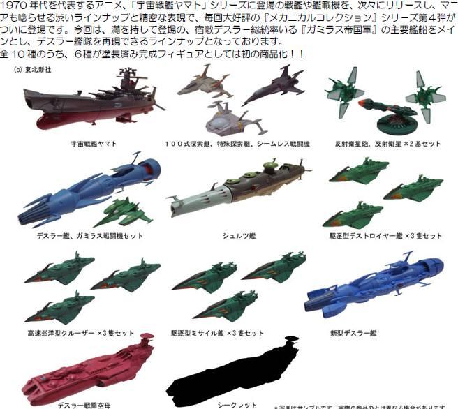 SpaceBattleShipYamatoMechanicalCollectio